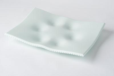 ggcoriansederplateseaglass