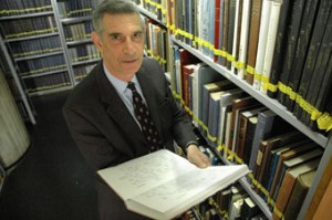 Neville Lamdan, director of the International Institute for Jewish Genealogy and Paul Jacobi Center/ Courtesy of Neville Lamdan