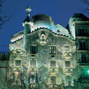 Gaudi's Casa Batllo. Photo courtesy of Tourist Office of Spain in New York