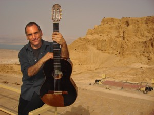 David Broza at Masada. Photo courtesy of Shahar Azran/Polaris Images.