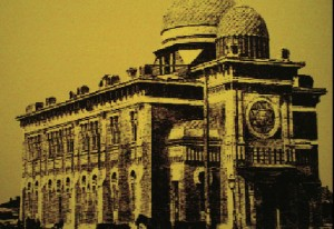 The Main Synagogue, as it once was. Charles Berelowitz