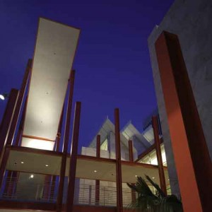 Broad Contemporary Art Museum.  Photo courtesy of Weldon Brewster/LACMA.
