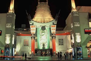 The legendary Grauman's Chinese Theatre on Hollywood Boulevard.  Photo courtesy of Los Angeles Convention and Visitors Bureau.