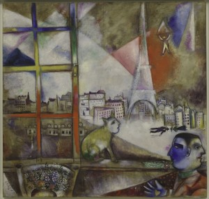 'Paris Through My Window' Courtesy of the Philadelphia Museum of Art