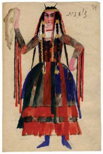 Ignaty Nivinsky, 'Gypsy Woman,'  Russian State Archive of Literature and Art, Moscow