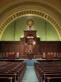Ohabei Shalom, the first Jewish congregation in Boston.  Photo courtesy of Ohabei Shalom