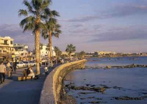 Seaside Paphos. Photo courtesy of the Cyprus Tourism Organization.