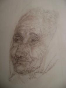 Portrait of Rumiyeh/Eli Schwarz
