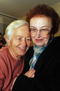 Hana Katz (left) and Klara Blaier/  Isaac Harari Courtesy of Yad Vashem