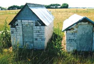 What prompted the building of these curious, gabled grave-houses? Photo courtesy of Isa Milman