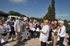 Rose Inbal/Hadassah offices in israel