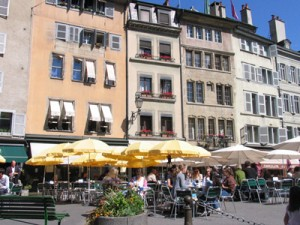 Cafés in Old Town (Photo by Esther Hecht)