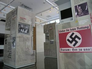 nside the Harriet and Kenneth Kupferberg Holocaust Resource Center and Archives / Courtesy of the Queensborough Community College