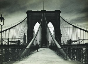 '(Untitled) Brooklyn Bridge' by Alexander Alland.