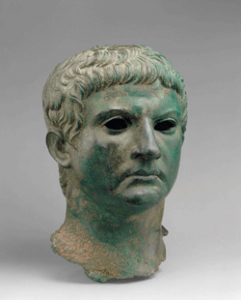 Herod cultivated strong ties with the Roman leadership, including the general Marcus Agrippa, whose bronze bust is on display at the Israel Museum.Courtesy  of the Metropolitan Museum of Art, NY.