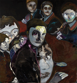 Maya Bloch's 'Eight Figures.' Image courtesy of Thierry Goldberg Gallery.
