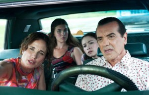 Andie MacDowell (left) and Chazz Palminteri (right) in 'Mighty Fine.'
