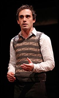 Ari Brand as Asher Lev. Photo by Joan Marcus.