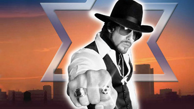 Adam Goldberg as the Hebrew Hammer.