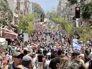 The Tel Aviv Pride Parade. WikiCommons.