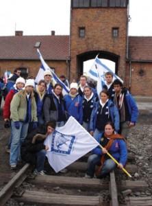 Year Course trip to Poland.  Photo courtesy of Brianna Greenspan.