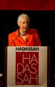 Hadassah President Marcie Natan
