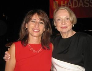 Aileen Bormel (left) and Mona Wood,  syposiuim cochairs.