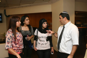 Most of the Israeli Arabs in the National Civil Service are women. Photo courtesy of the National Civil Service.