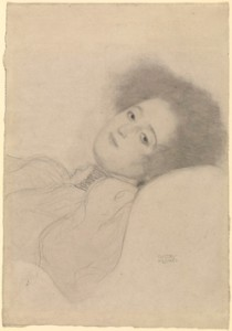 'Portrait of a Young Woman Reclining.' Courtesy of The J. Paul Getty Museum.