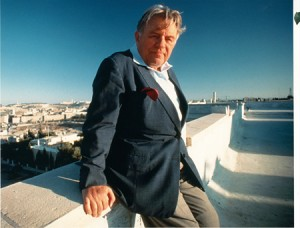 Former Mayor of Jerusalem Teddy Kollek. Courtesy of the Jerusalem Foundation.