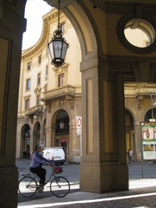 Livorno's city center. Photo by Elin Schoen Brockman.