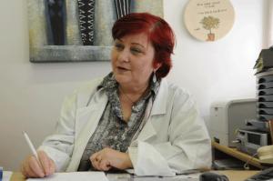 Dermatologist Vera Leibovici. Photo by Debbi Cooper.