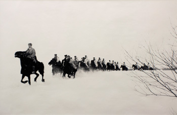 'Behind Enemy Lines,' Dmitrii Baltermants. Gelatin silver print. On loan from Teresa and Paul Harbaugh, CU Art Museum, University of Colorado Boulder.