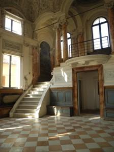 The synagogue in Pesaro. All photos by Elin Schoen Brockman.