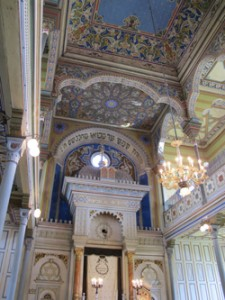 The synagogue in Presov. All photos by Ruth Ellen Gruber.