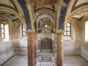 Stupava's synagogue awaits further restoration.