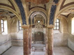 Stupava's synagogue awaits further restoration.