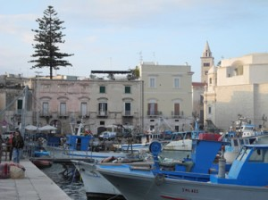 Trani's ancient port.
