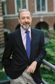 David Roskies, head of the Center for  Yiddish Studies at Ben-Gurion University.