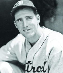 Detroit Tigers' Hank Greenberg. Rogers Photo Archive.