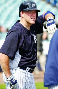 Yankees' first baseman Kevin Youkilis. Photo courtesy of the New York Yankees.