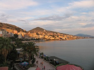 Seaside Sarande. Photo by Esther Hecht.