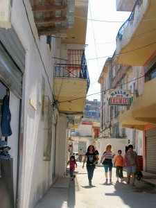Vlore's Jews' Street. Photo by Esther Hecht.