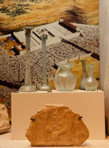 Vessels and artifacts from the biblical era.