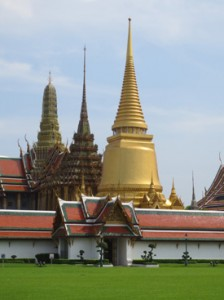 The Grand Palace.  All photographs by Dan Fellner.