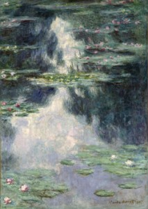 Monet's 'Pond of Water Lilies.'