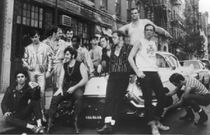 Alan Cooper (center, with hat and sunglasses) was once lead singer of Sha Na Na. Courtesy of Alan Cooper.