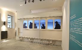 Silhouette filmstrip at Le Lieu de Memoire. Photo courtesy of Jean-Marc Demars.