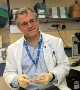Dr. Ronen Beeri. Photo by Debbi Cooper.