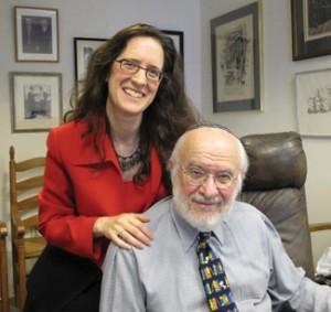 Nathan and Alyza Lewin. Photo courtesy of Rikki Gordon Lewin.
